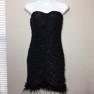 AX Paris Black Dress Size 4 NWT